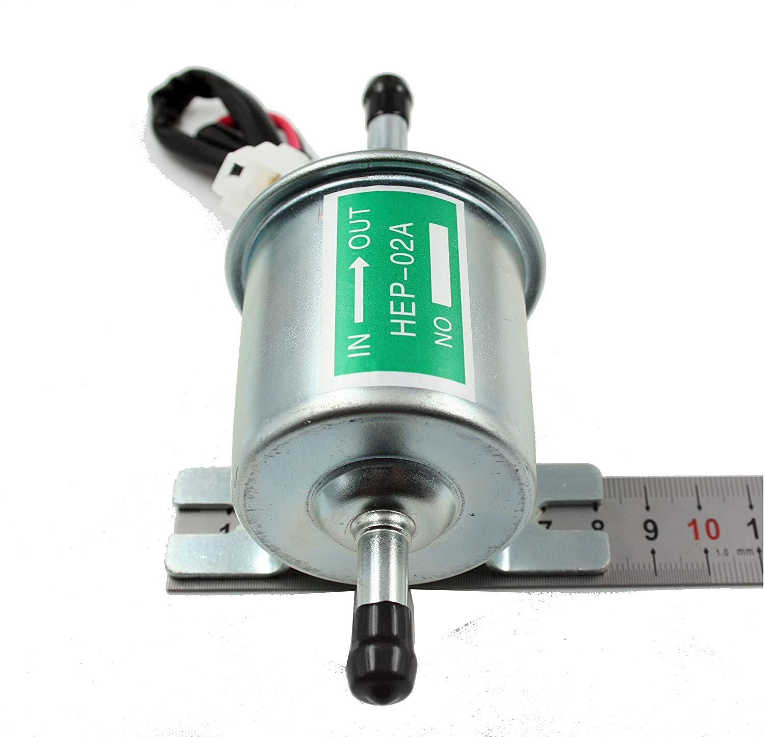 Xtremeamazing Universal Electric Fuel Pump For Sportsman 500 Line Diagram Also Honda Cb750 Wiring Motorcycle Low Pressure 12v Carburated Fp 02 Atv Automotive