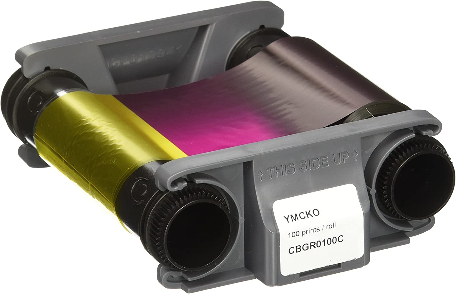 Evolis Colour ribbon (YMCKO), CBGR0100C (for up to 100 cards fits for: Badgy200)