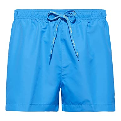 d0077070675 Calvin Klein Core Logo Tape Swim Short  Amazon.co.uk  Clothing
