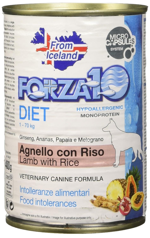 FORZA F10chien Pate 'Diet agneau/riz Gr. 400 Forza10 8020245011953