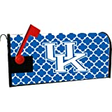 KENTUCKY WILDCATS MAILBOX COVER-UNIVERSITY OF KENTUCKY MAGNETIC MAIL BOX COVER-MOROCCAN DESIGN