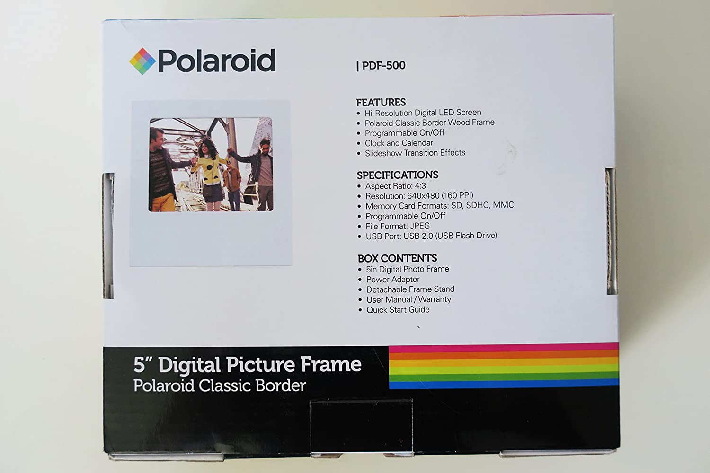Buy Wowtech WowBox35 PDF-500 3.5-inch Digital Photo Frame (Black ...