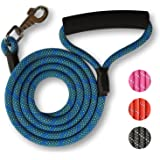 ATLIN Dog Leash with Padded Handle – Strong for Medium and Large Dogs – DynamicComfort Climbing Rope Pet Lead - 4 FT or 6 FT Leashes for the Perfect Amount of Control - Reflective Leash for Safety