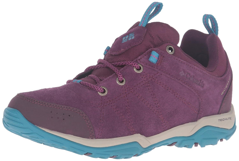 Columbia Damen Fire Venture Niedrig Waterproof Outdoor Fitnessschuhe, Nori/Corange Violett Violet (Purple Dahlia / Intense Violet Violett 562) d72c77
