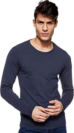 Jack & Jones Basic O-Neck tee L/S Noos Camiseta para Hombre