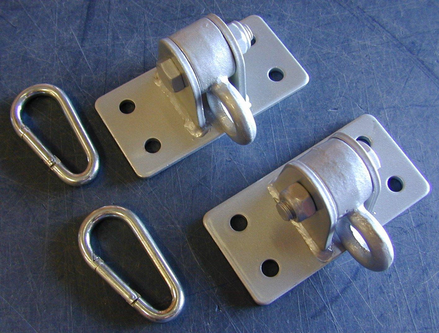 4 Hole Welded Steel Hanger Set (Pair)
