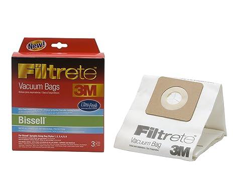 3M Filtrete Bissell Universal Antimicrobial Vacuum Bag