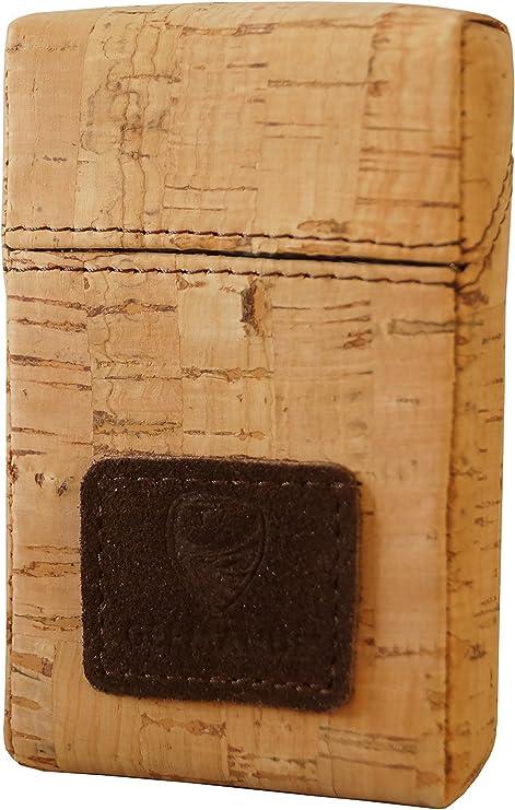 GERMANUS - Caja para Cigarrillos de Corcho: Amazon.es: Equipaje