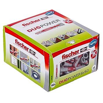 Fischer Universaldübel Duopower 8x40 LD in Faltschachtel 4x 100 Stück