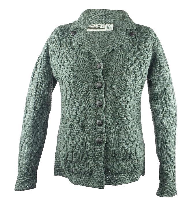 1960s Inspired Fashion: Recreate the Look 100% Irish Merino Wool Revere Button Collar Sweater $89.99 AT vintagedancer.com