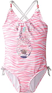 6e977f68615d7 Amazon.com  Jantzen Girls  Mermaid Ruffle Tankini swimsuit  Clothing