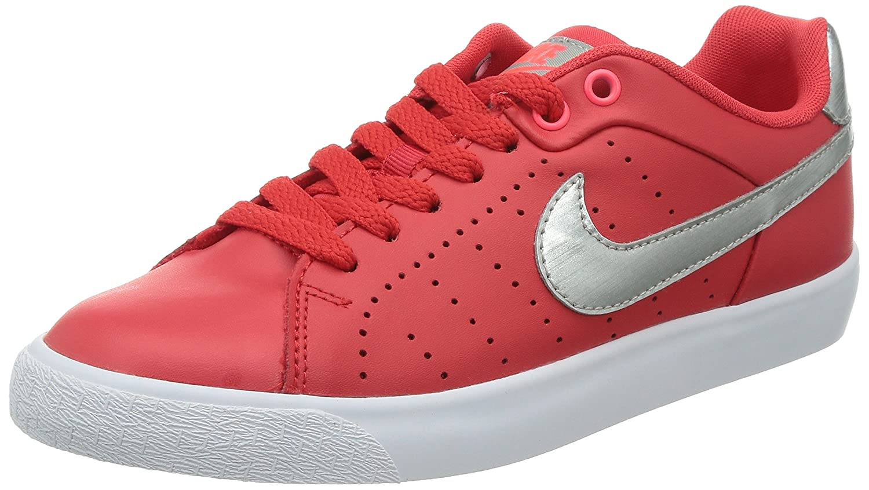 Details zu Nike Damen Hof Tour Skinny Leder Damen Rund Leder Rot Sneakers  Sz 10