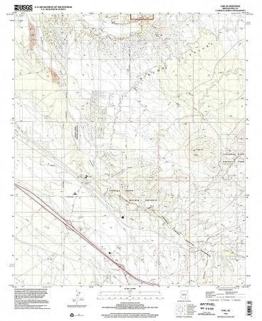 Vail Arizona Map.Amazon Com Yellowmaps Vail Az Topo Map 1 24000 Scale 7 5 X 7 5