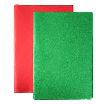 Amazon.com: Aneco 120 hojas de papel de seda de Navidad de ...