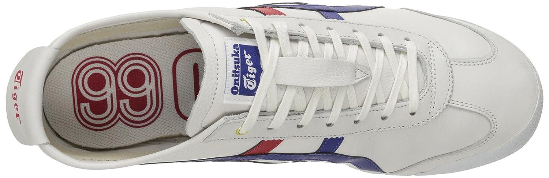 Onitsuka Tiger Mexico 66 Fashion Sneaker B00NVQFO92 8.5 M US Women / 7 M US Men White/Dark Blue