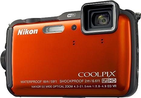 Nikon Coolpix AW120 - Cámara compacta de 16 MP (Pantalla de 3 ...