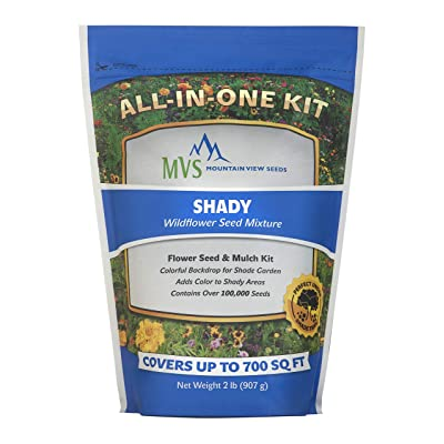 Mountain View Seeds 100571 Shady Wildflowers, Assorted : Garden & Outdoor