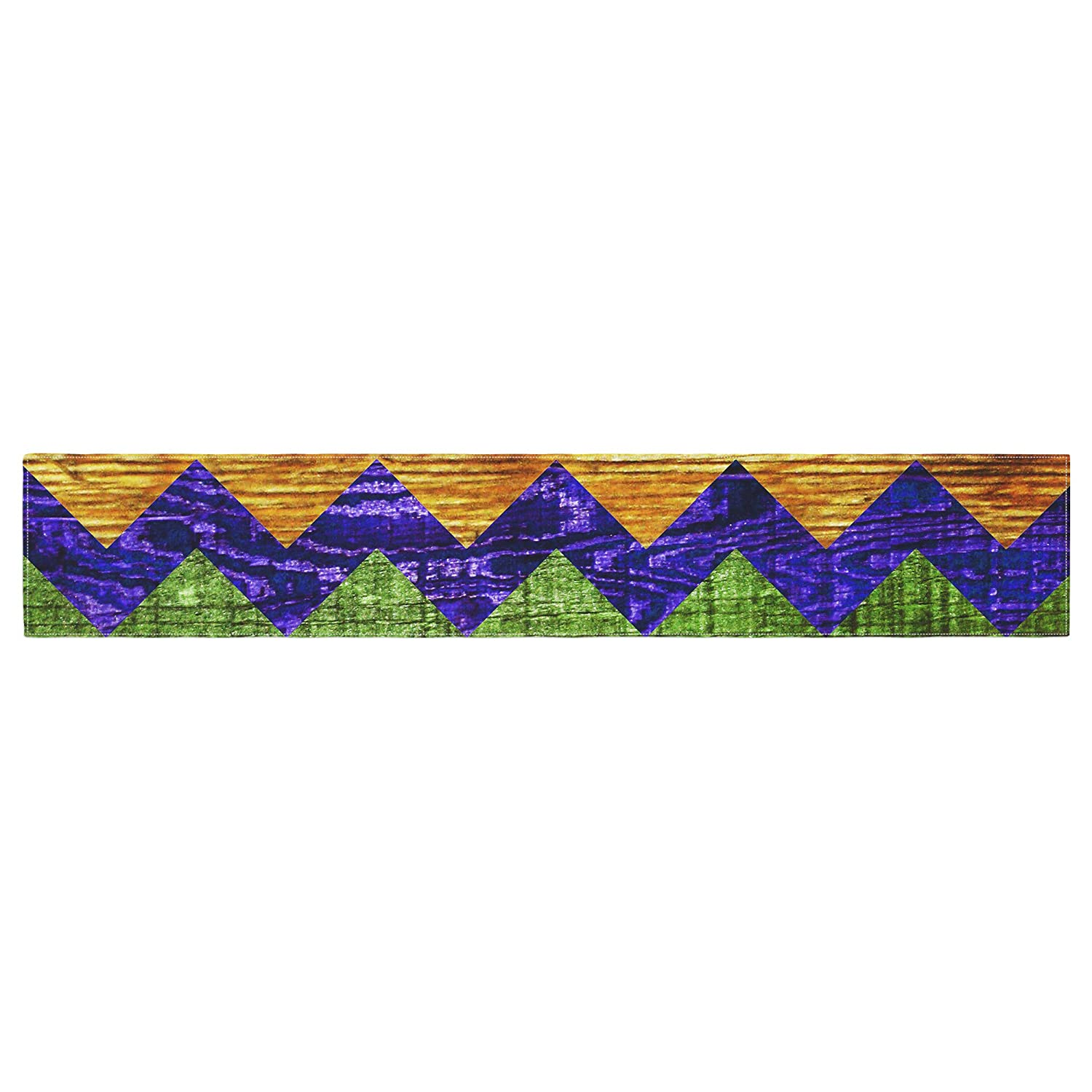 Kess InHouse Beth Engel Natural Flow Chevron Table Runner