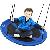 "Flying Squirrel Giant Rope Swing - 40"" Saucer Tree Swing- Additions & Replacements for Active Outdoor Play Equipment…"