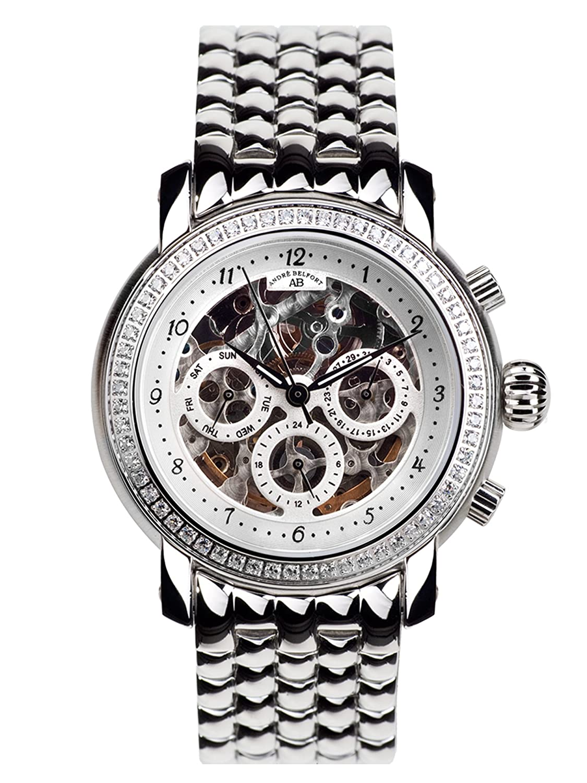 AndrÉ Belfort AndrÉ Belfort Damen-Armbanduhr Intemporelle Silber Stahl 410142  silber