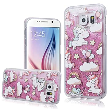 coque samsung galaxy s6 paillette