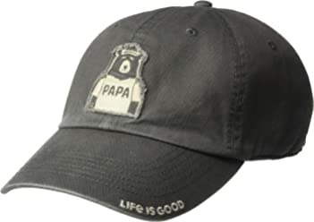 f17acc66c27 Life is Good Unisex Tattered Chill Cap Baseball Hat