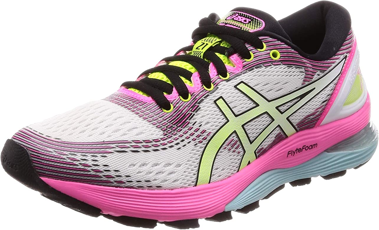 Asics Gel-Nimbus 21 SP, Zapatillas de Running para Mujer, Cream White, 37.5 EU: Amazon.es: Zapatos y complementos