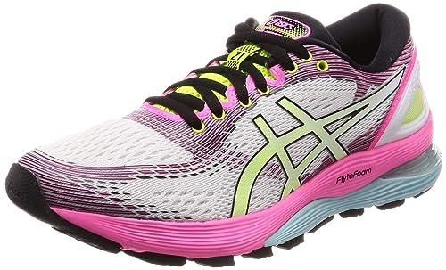 Asics Gel-Nimbus 21 SP, Zapatillas de Running para Mujer, Cream White, 37 EU: Amazon.es: Zapatos y complementos