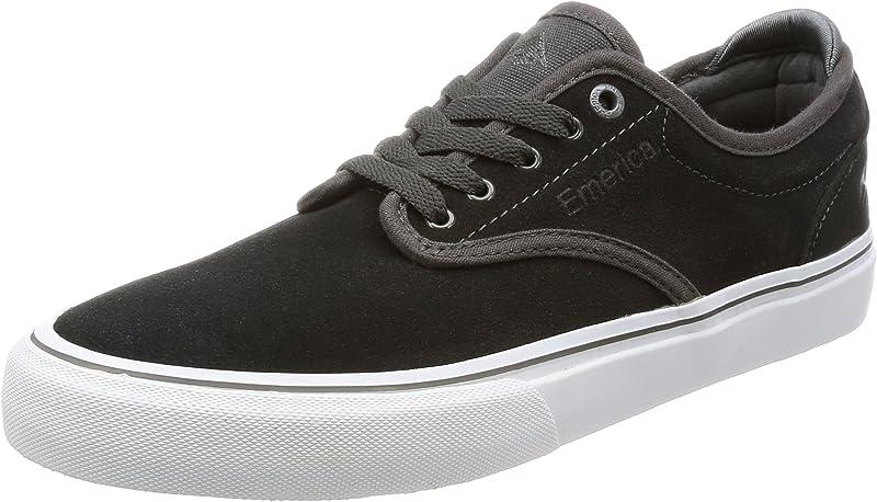 Emerica Wino G6 Sneakers Skateboardschuhe Herren Dunkelgrau/Weiß