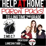 Help At Home Parent Packs ANALOG CLOCKS 2nd Grade