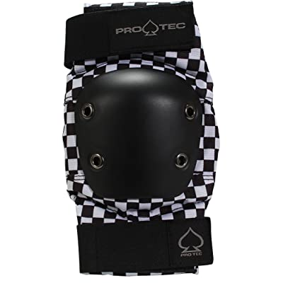 Pro-Tec Black Checker Elbow Pads S : Sports & Outdoors
