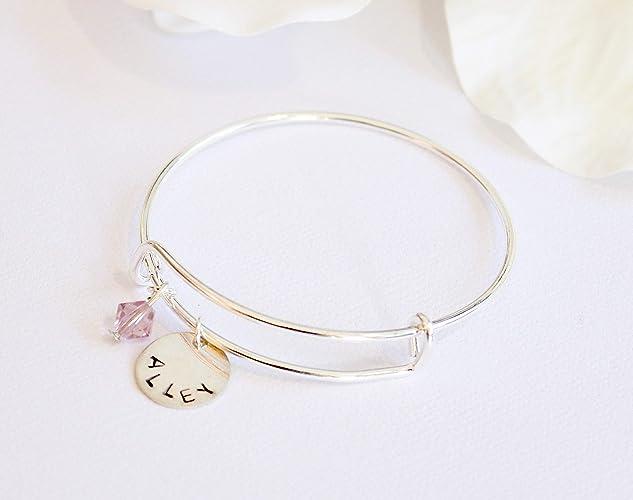 b2779eef311d Amazon.com  Child s Silver Bangle Bracelet