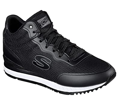 Skechers SUNLITE VEGA HIGH nero sneakers scarpe donna memory foam 920