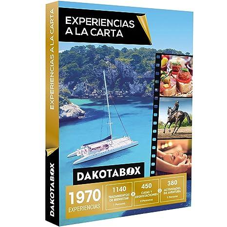 DAKOTABOX - Caja Regalo - EXPERIENCIAS A LA CARTA - 1970 experiencias para evadirse