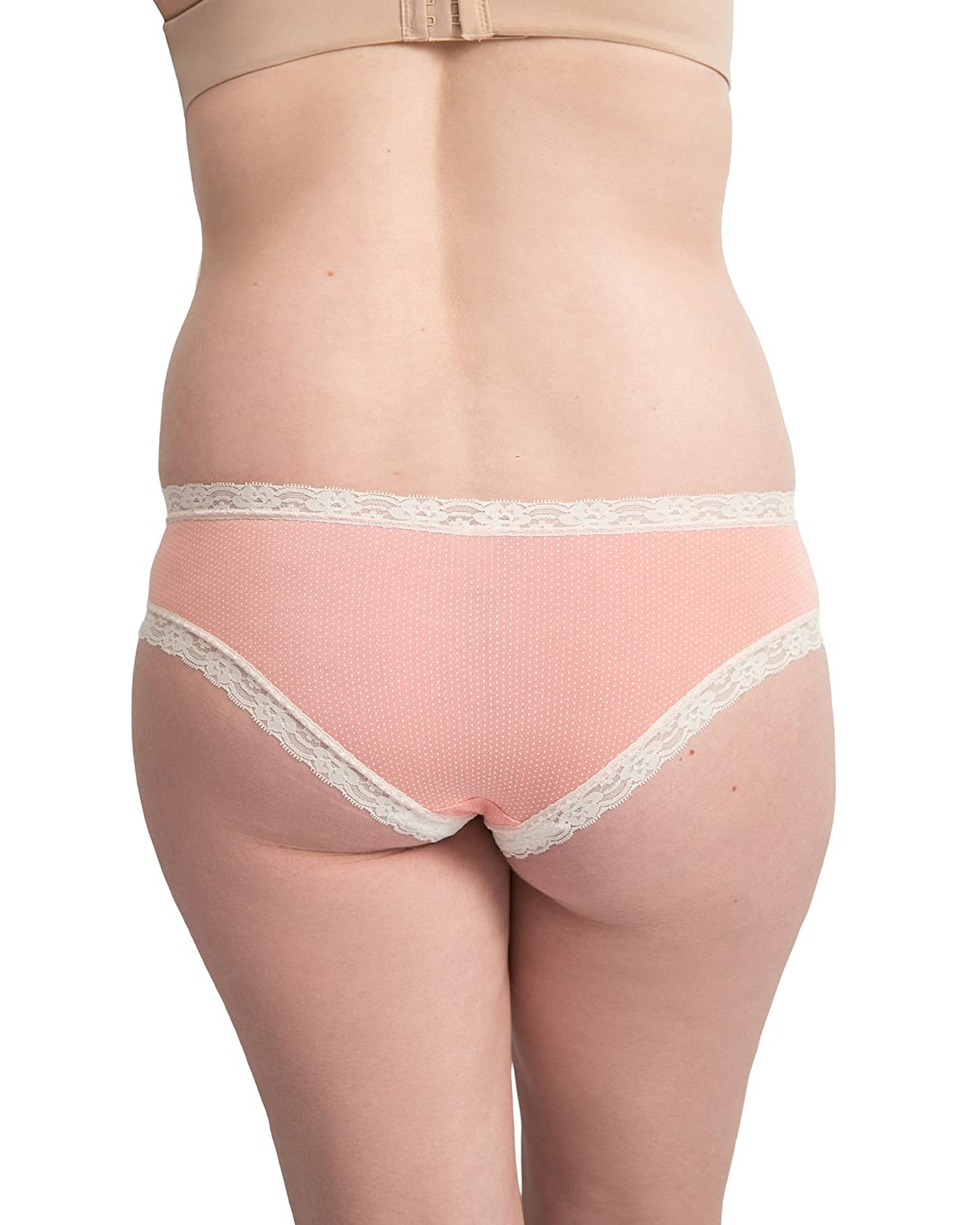 RelaxMaternity 5110 Cotton Over The Bump Maternity Thong