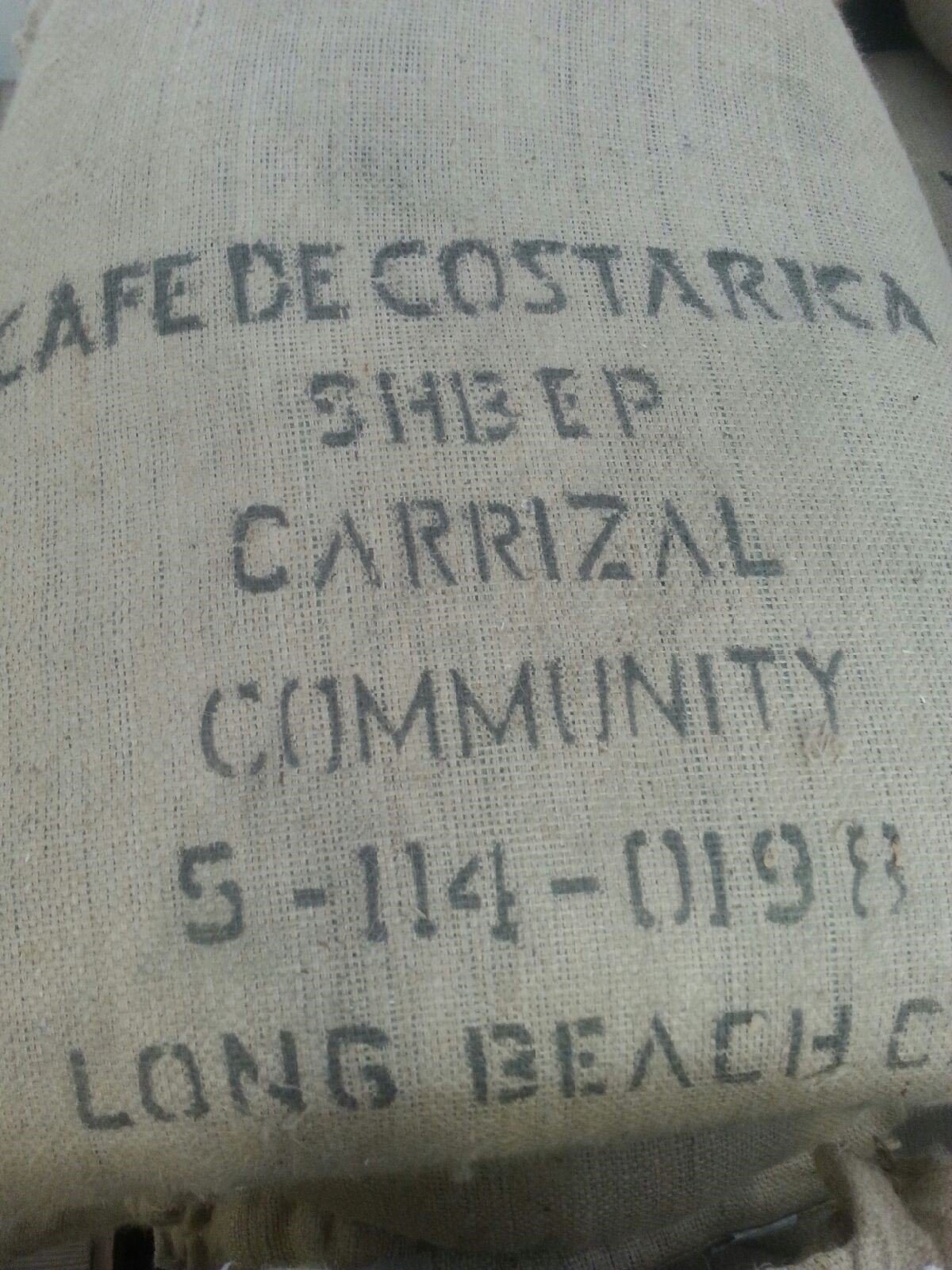 15LBS Costa Rica Carrizal Unroasted Green Coffee Beans by Bodhi Leaf Trading Company