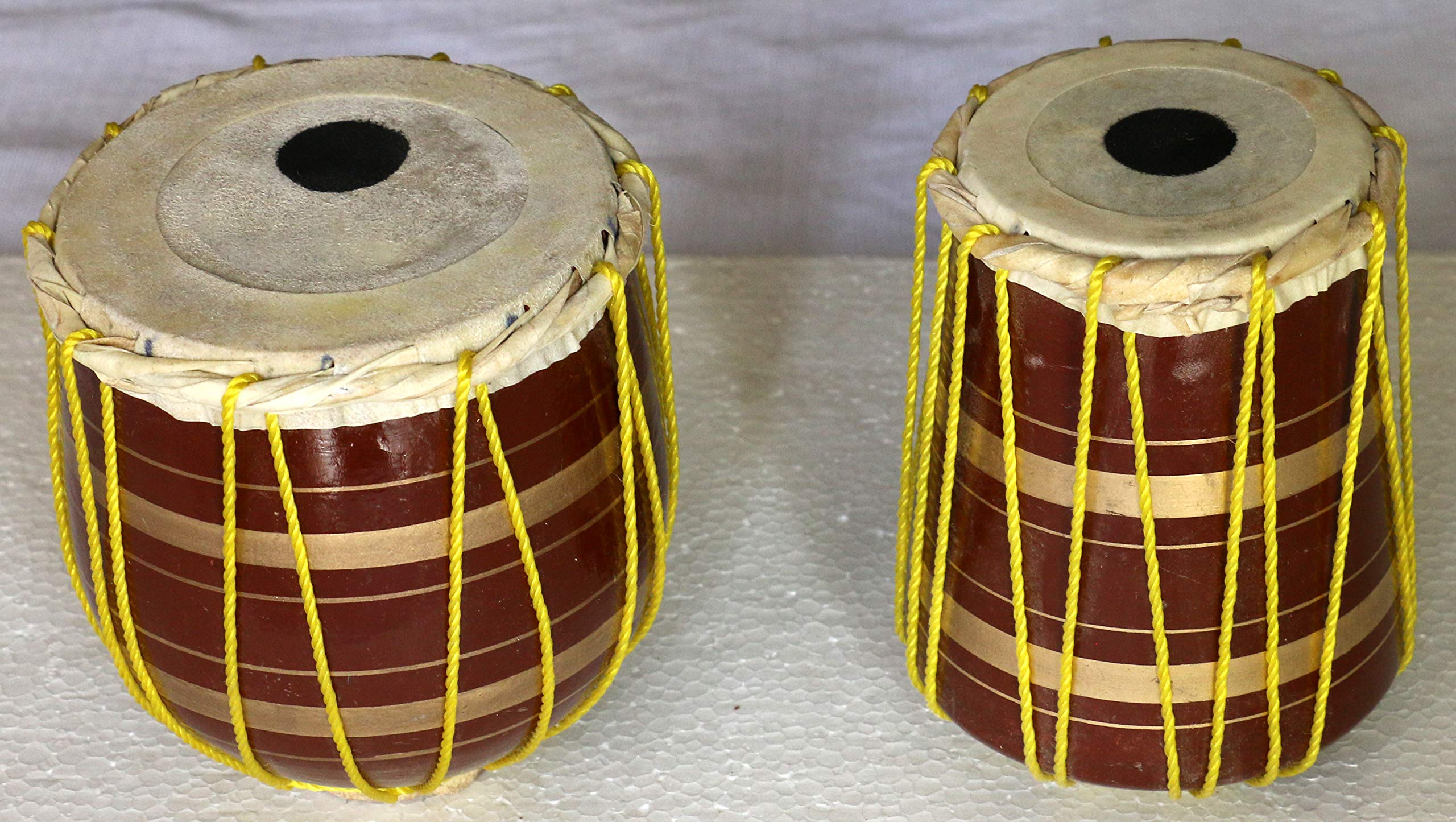 Miniature Tabla set Show Piece to Gift a Musician Friend (Not Actual) Decoration