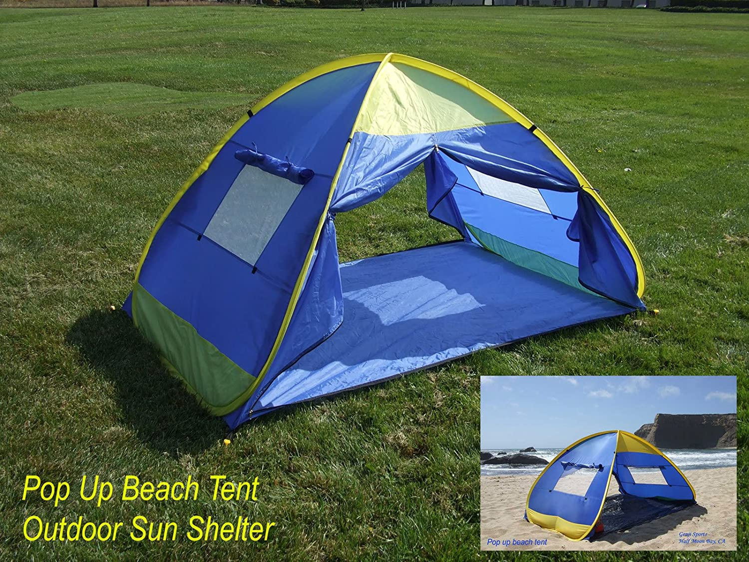 Amazon.com  Pop up outdoor family tent (4 Panels)  Instant Tent  Sports u0026 Outdoors & Amazon.com : Pop up outdoor family tent (4 Panels) : Instant Tent ...