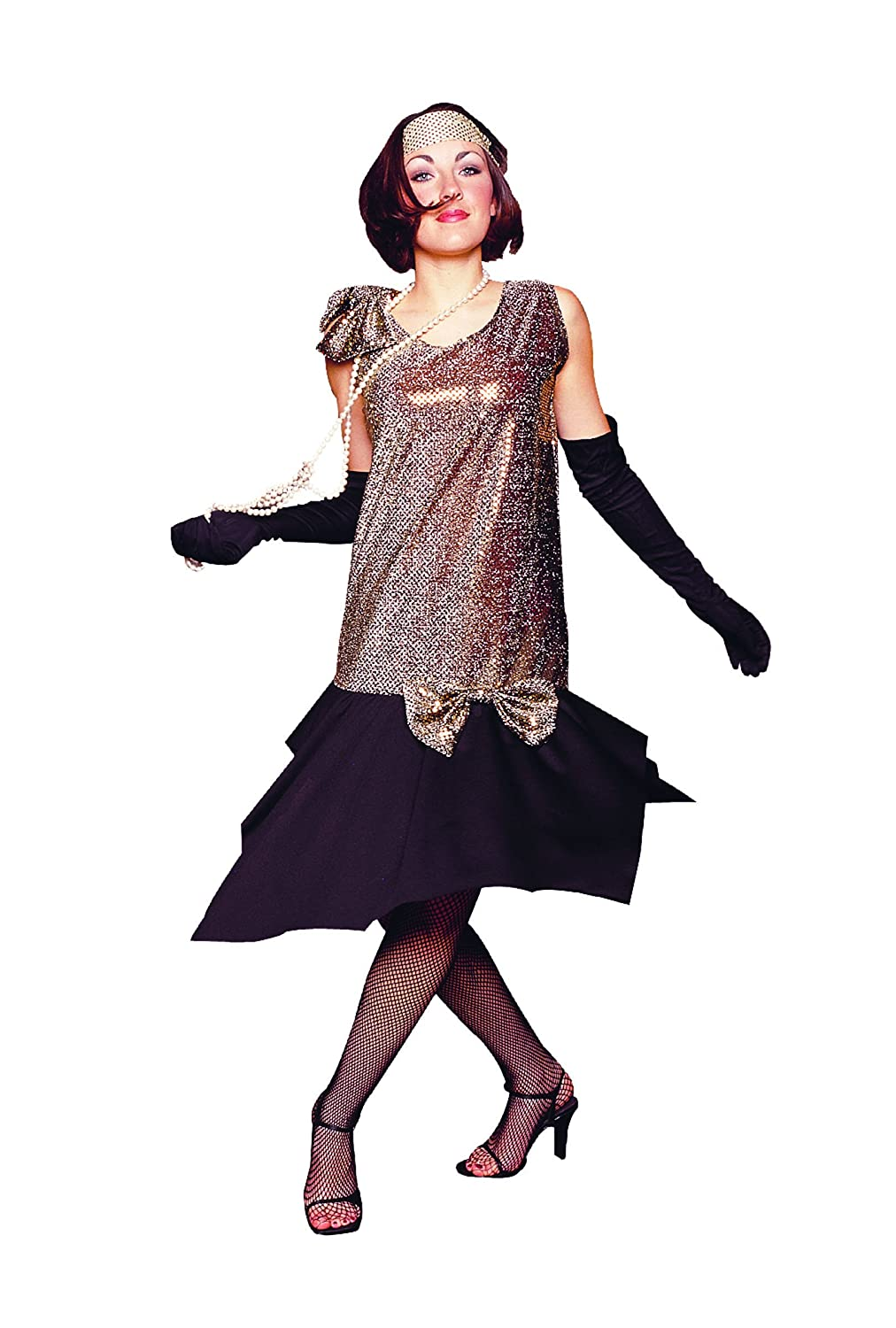 Roaring 20s Costumes- Flapper Costumes, Gangster Costumes Rag Time Flapper $28.30 AT vintagedancer.com
