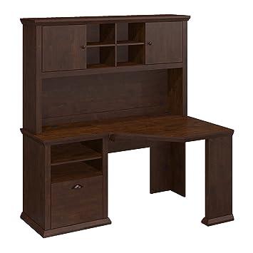Amazon.com: Bush muebles Yorktown colección 60 W computadora ...
