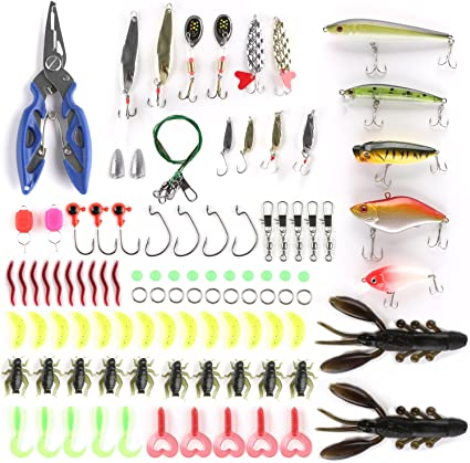 24Pcs Lot Saltwater Mixed Fishing Lures Minnow Lure Crank Bait Freshwater Tackle