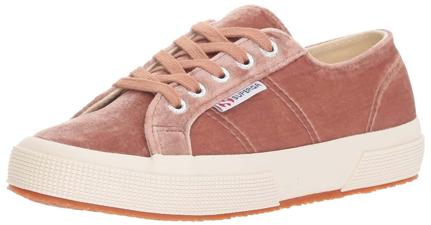 Superga Women's 270 Velvetjpw Fashion Sneaker B071JC59ZQ 38 M EU / 7.5 B(M) US|Blush Velvet