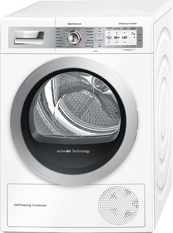 Bosch HomeProfessional WTYH7701 Libera installazione Carica frontale 8kg A+++ Bianco asciugatrice