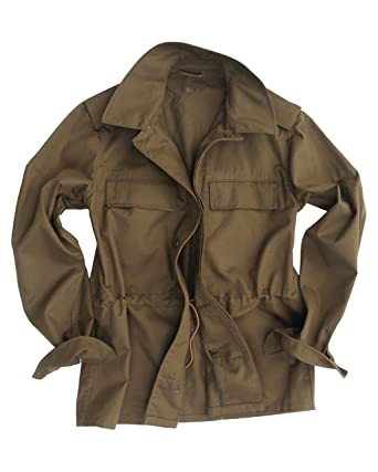 31e966d22 Genuine CZECH Army Issued Olive Drab M85 Field Jacket: Amazon.co.uk ...