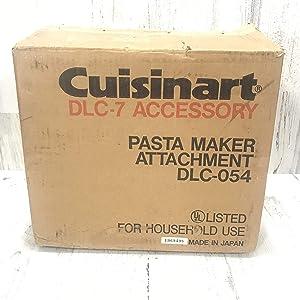 Cuisinart DLC-054 Pasta Maker Attachment (for DLC-7 Food Processor)