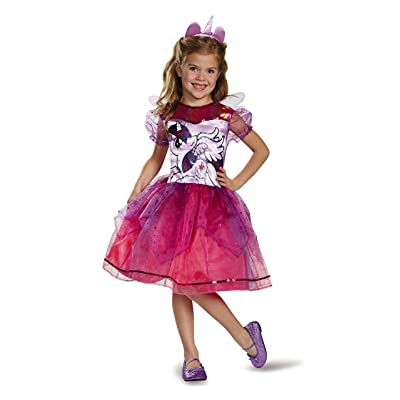 My Little Pony Girls Deluxe Twilight Sparkle Toddler Costume: Toys & Games