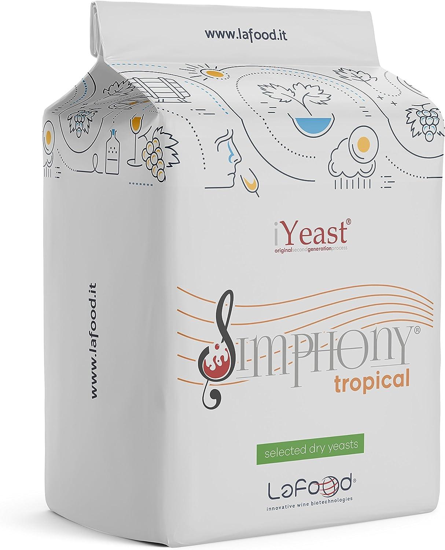 /0,100/kg/ Simphony Levure /œnologique s/électionn/é Tropical/ /Levure pour vinification//Fermentation//vin