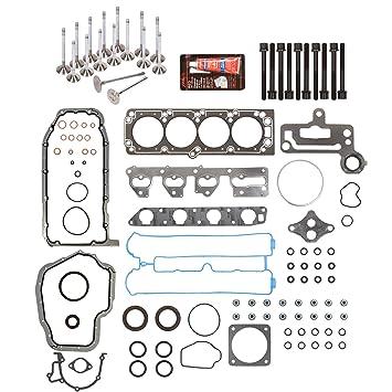 Daewoo//Isuzu 2.0L 2.2L Full Gasket Set+Head Bolts Gasket silicone X20SE A20DMS