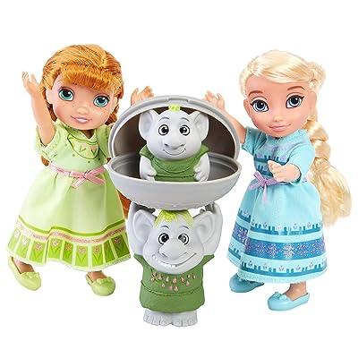 Disney Frozen Petite Surprise Trolls Gift Set: Toys & Games