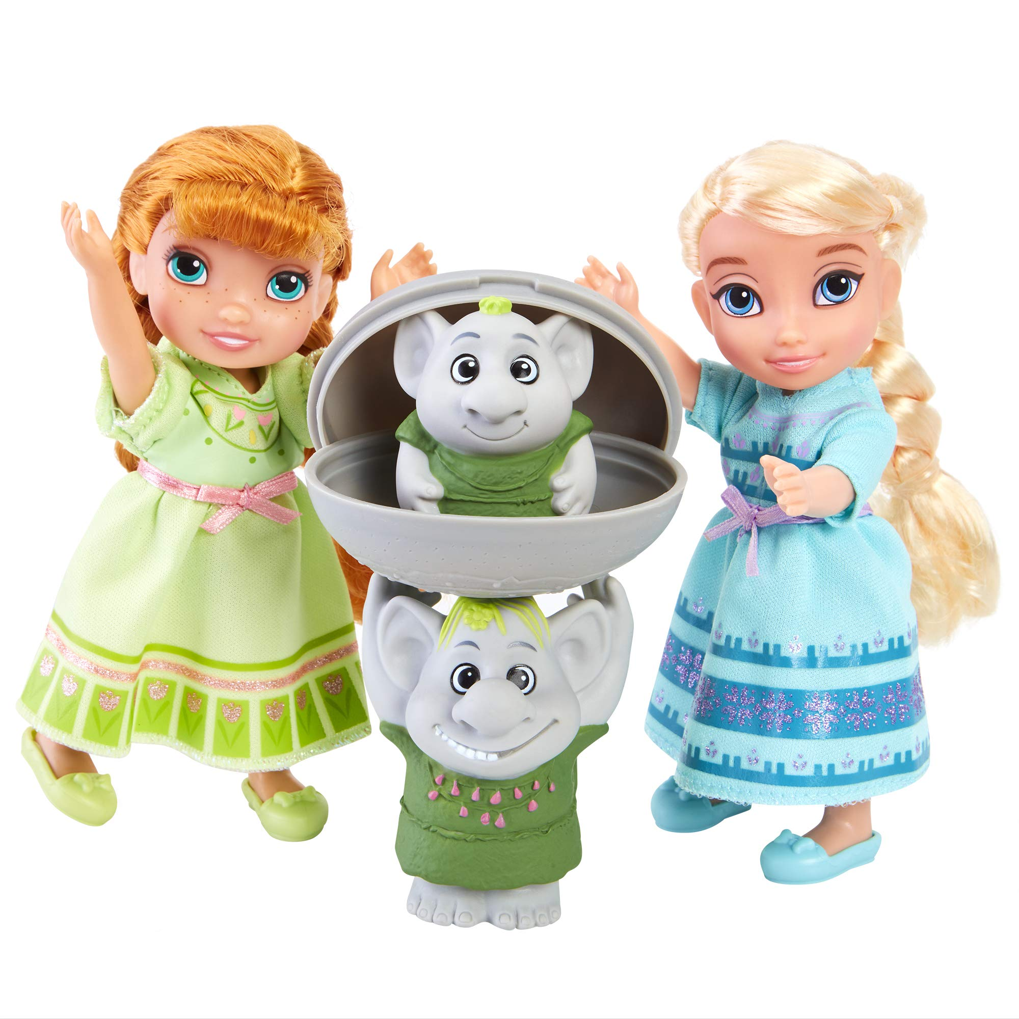 Disney Frozen Petite Surprise Trolls Gift Set